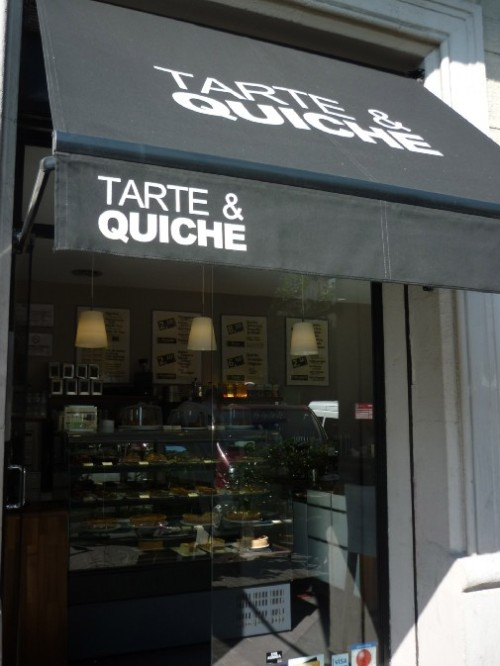 Shop front Tarte and Quiche Barcelona