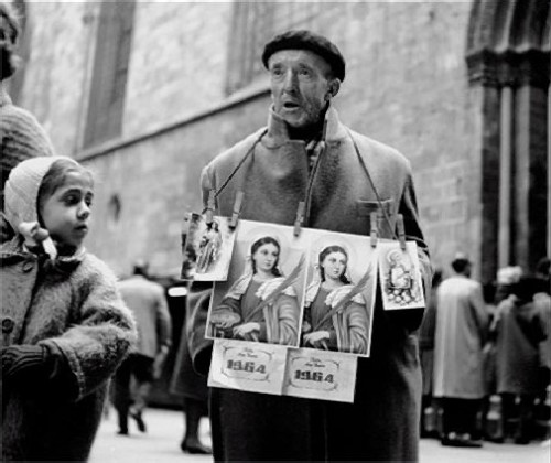 Street seller Eugeni Forcano exhibition