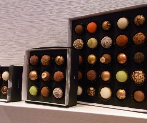 Chocolates at Vioko, Barceloneta, Barcelona