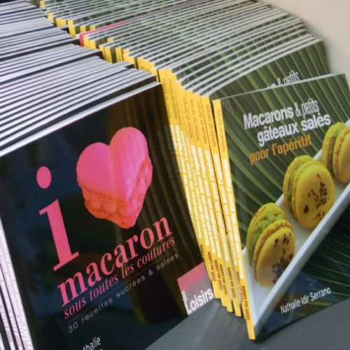 Macaroon books at Sole Graells, Barcelona