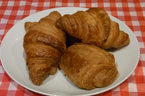 Croissants and pain au chocolat from Hofmann, Barcelona