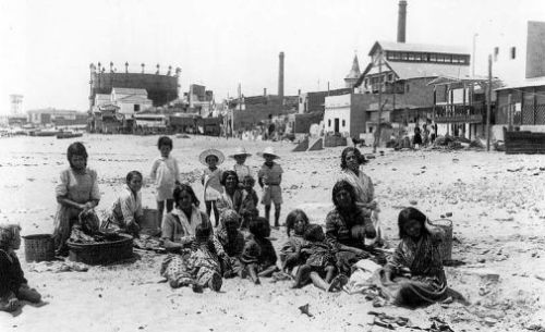 Somorrostro beach in 1935, Claire Gledhill, Barcelona food blog
